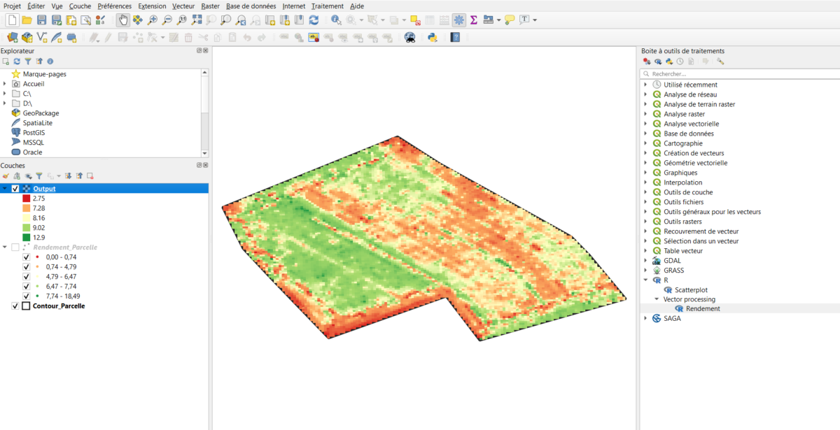 Link R and QGIS: Integrate your own R algorithms in QGIS